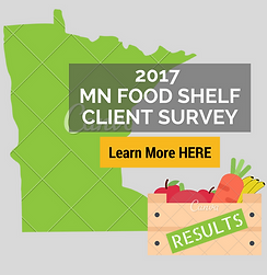 2017 MN Food Shelf Client Survey Results