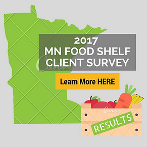 Minnesota Food Shelf Cleint Survey Report 2017