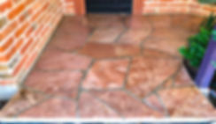 Flagstone After cleaning, Sealing & Refinishing Tucson, AZ