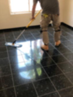 Granite floor after restoration Tucson A