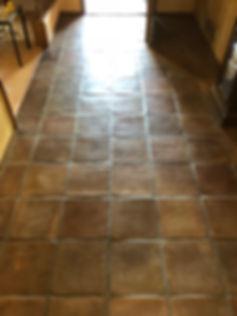 Dirty Saltillo Tile In Tucson Arizona