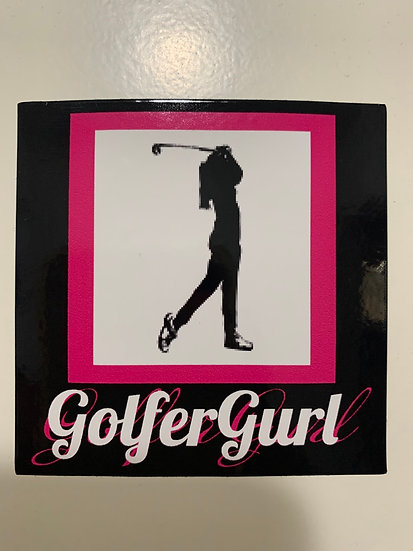 GolfGurl Stickers