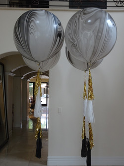 "36"" Helium Balloon With Tassels"