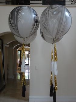 "36"" Helium Balloon With Tassels"