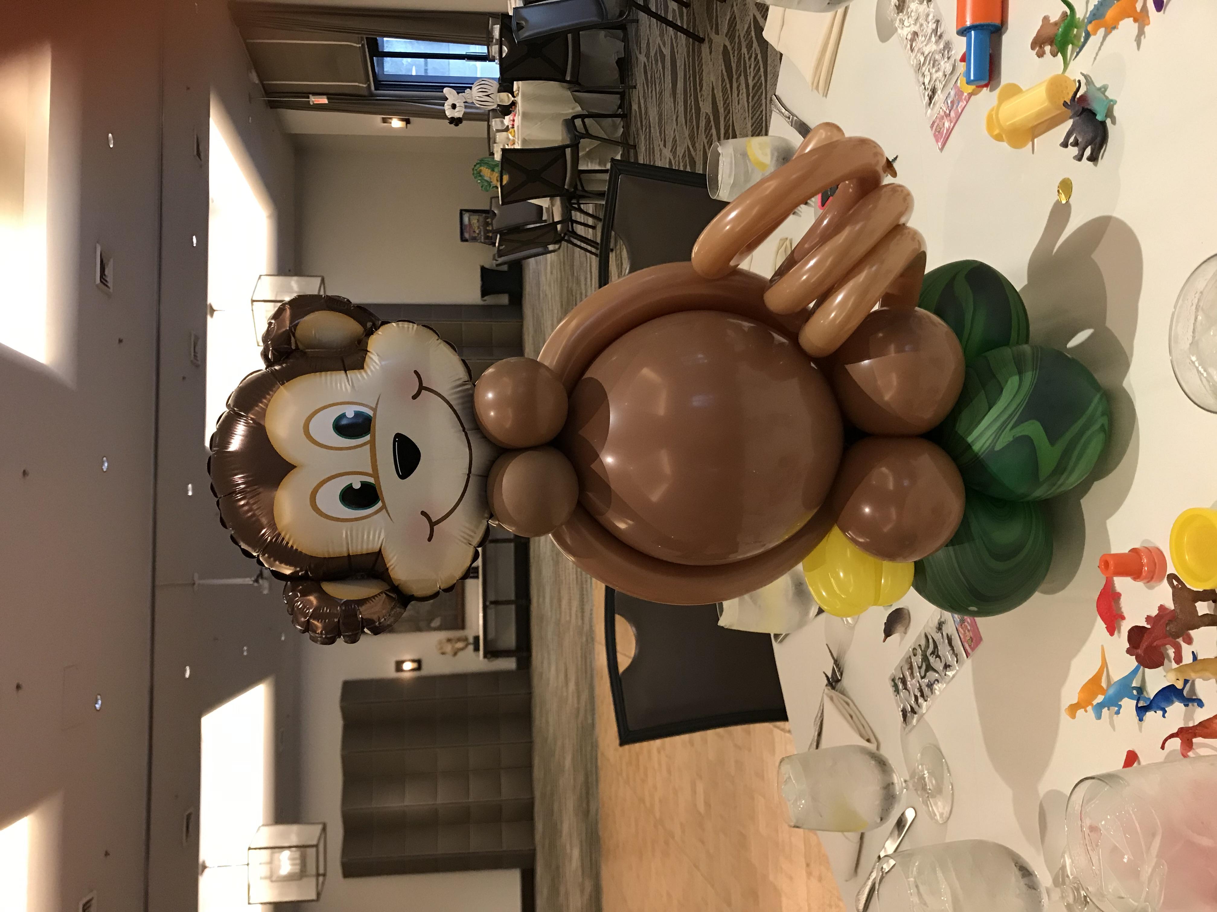 Monkey Centerpiece