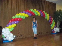 Rainbow Arch (size: 24' when flat)