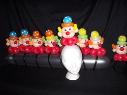 Clown Headbands