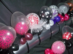 Balloon and Feathers Headband