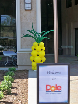 Pineapple Column