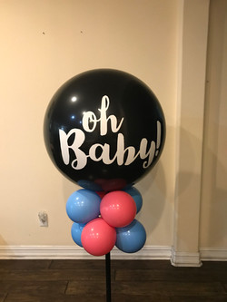 Gender Reveal Mini Column