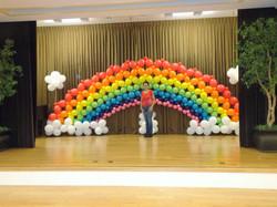 Wide Rainbow Arch
