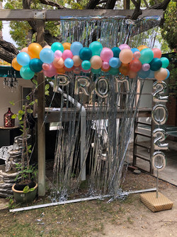 Prom Garland with 2020 Foil Numbers