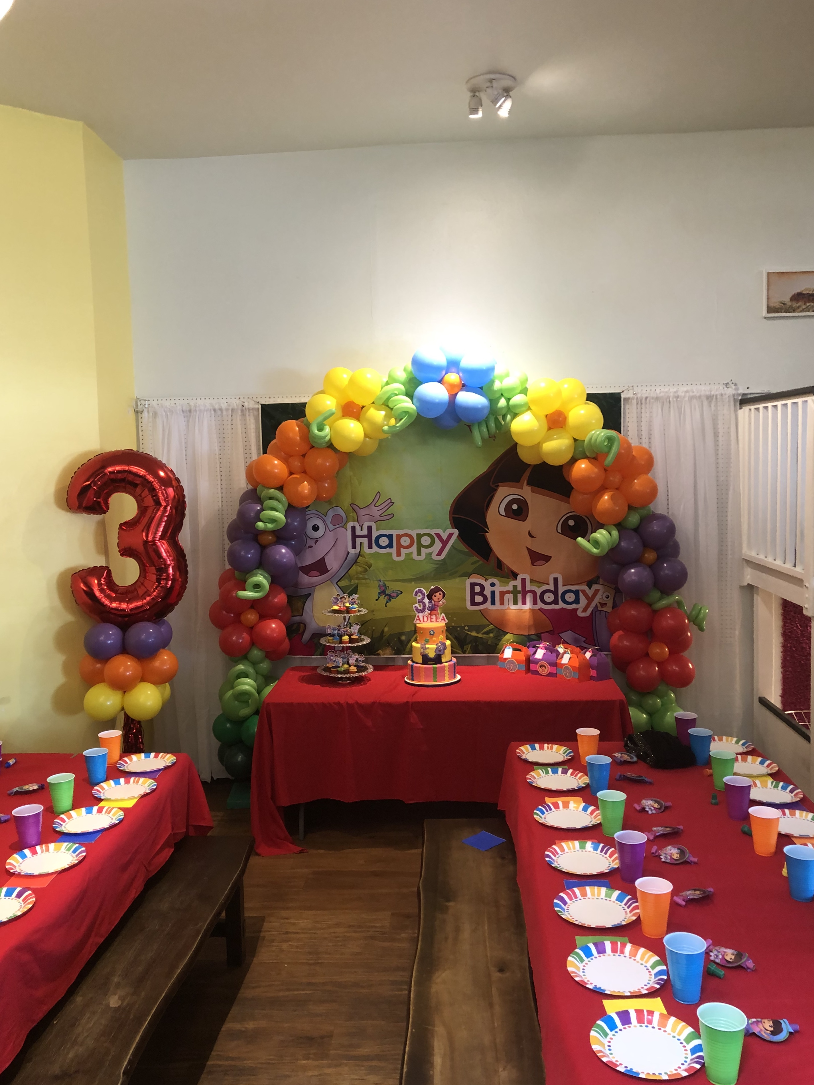 20' Dora Theme Arch