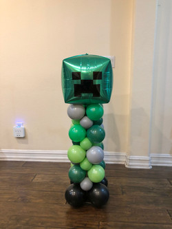 Cube Character 3.5 feet tall