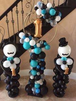 5' Organic Balloon Columns