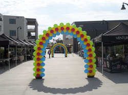 20' Slim Four Color Arch