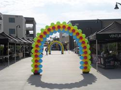 20' Slim Four Color Arch