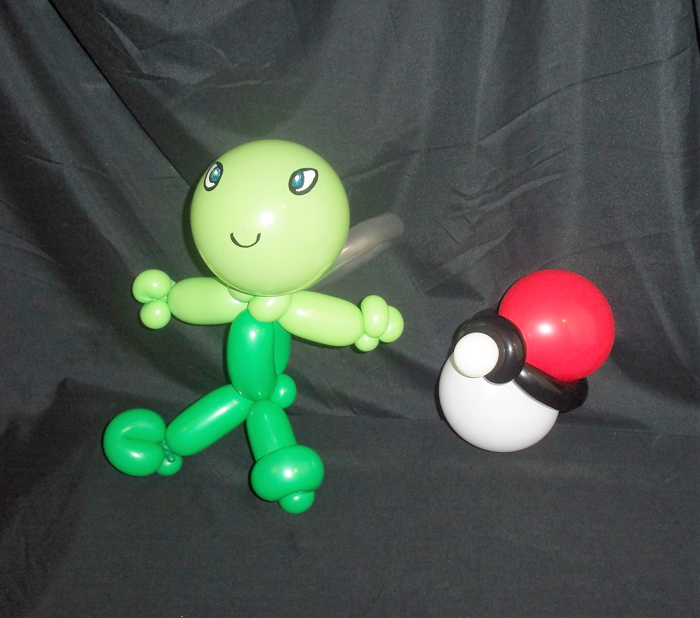 Celebi and Pokemon Ball