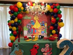 Sesame St Theme Arch