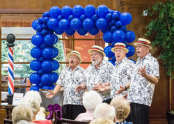 BARBERSHOP QUARTET BALLOON ANCHOR