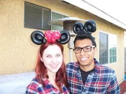 Minnie and Mickey Headband