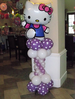 Hello Kitty Column