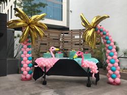 Miami Theme Palm Trees