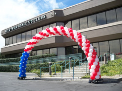 30' Patriotic Balloon Arch