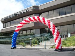 30' Patriotic Balloon Arch