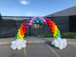 Small 17 foot Rainbow Arch