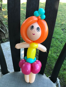 Fancy Nancy Balloon Twisted