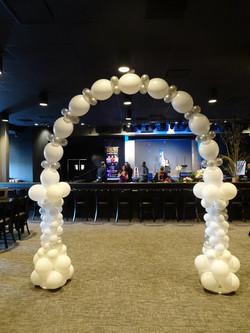 18' White Arch