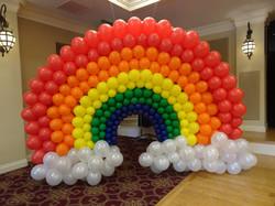 Large Rainbow Arch