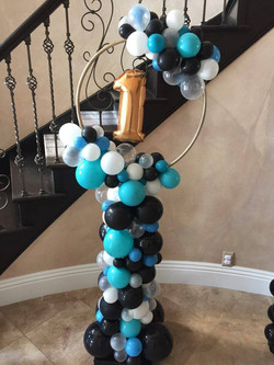 Organic Balloon Column