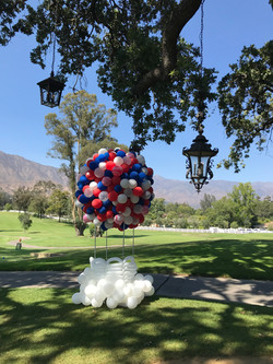 12' tall Hot Air Balloon Sculpture