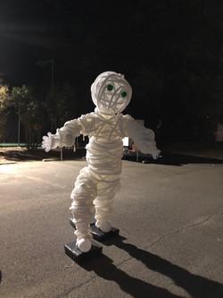 7' Monstrous Mummy Sculpture