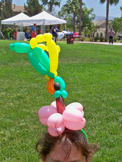 Balloon TwistedHumming Bird Headband