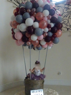 "8"" Tall Organic Hot Air Balloon"