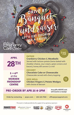Cooking for a Cause - Pregnancy Care Dri