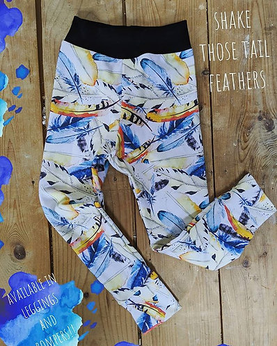 Shake your tail Feathers leggings