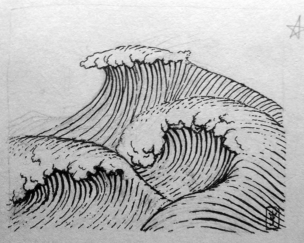 Dasonan, Wave Dream #1 sketch