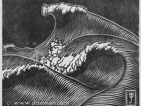 The Wave Dreams Print Series Begins