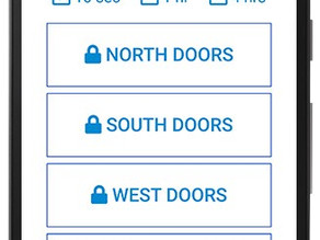 Innovative Door Access Solution at Legacy Christian Church