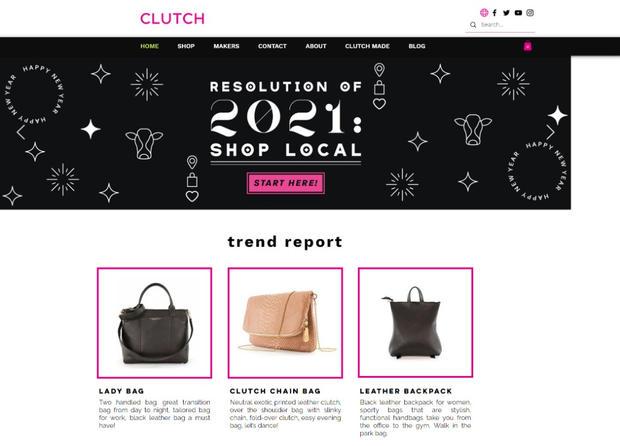 Clutch Bags Website