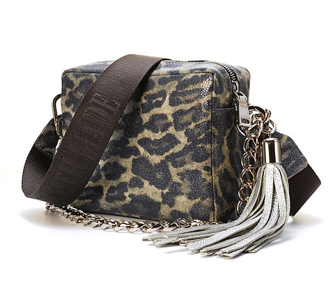 Cash & Carry All Bag - Leopard Print