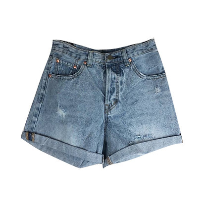 Shorts in Jeans
