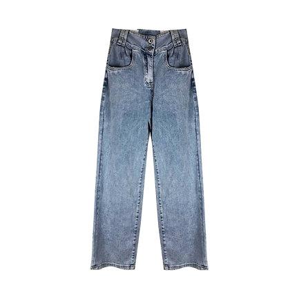 Jeans Dritto Chiaro