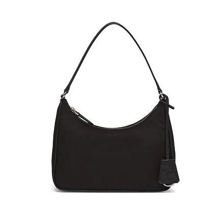 Mini Bag in Nylon Nera