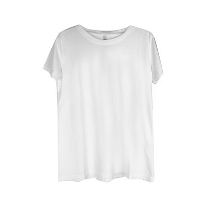 T-shirt Bianca Cotone