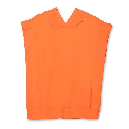 Felpa Senza Maniche Arancione